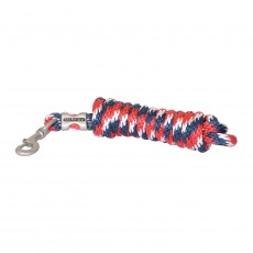 Whitaker Lead Rope (Red/White/Blue)