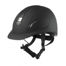 Whitaker VX2 Carbon Riding Helmet (Black)