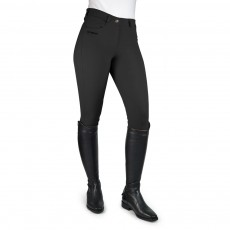 Whitaker Women's Horbury Self Seat Breeches (Black)