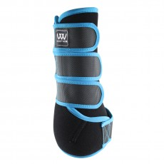 Woof Wear Dressage Wrap Colour Fusion (Black/Turquoise)