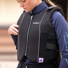 Gatehouse Child Body Protector Flexi Tabard (Black)