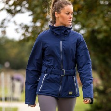 Mark Todd Women's Short Waterproof Jacket (Navy)