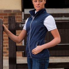 Mark Todd Women's Softshell Gilet (Navy)