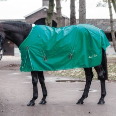 Mark Todd Lightweight Turnout Rug (Petrol/White)