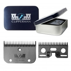 Clipperman Cla7 German Steel Blade Set (Coarse & Cattle)