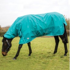 JHL Essential Lightweight Turnout Combo Rug (Turquoise)