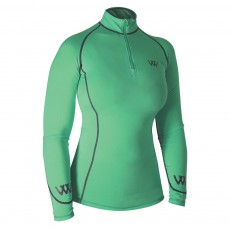 Woof Wear Ladies Performance Riding Shirt (Mint)