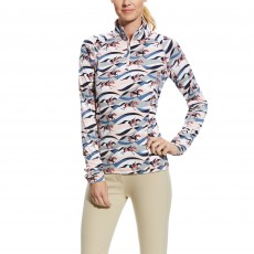 Ariat Women's Lowell 2.0 1/4 Zip (Flow Print)