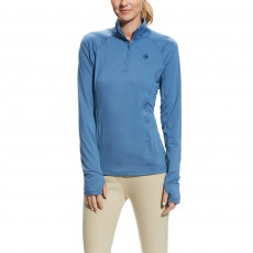 Ariat Women's Lowell 2.0 1/4 Zip (Grisblue)