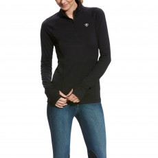 Ariat Women's Lowell 2.0 1/4 Zip (Black)