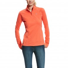 Ariat Women's Lowell 2.0 1/4 Zip (Calypso Coral)