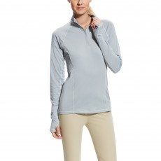 Ariat Women's Lowell 2.0 1/4 Zip (Coastal Gray)