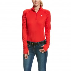 Ariat Women's Lowell 2.0 1/4 Zip (Salsa)