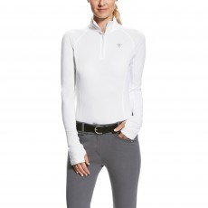Ariat Women's Lowell 2.0 1/4 Zip (White)