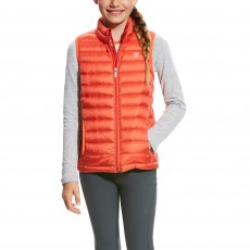 Ariat Girl's Ideal Down Vest (Calypso Coral)