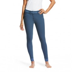Ariat Women's Heritage Elite Grip Knee Patch Breeches (Dark Denim)