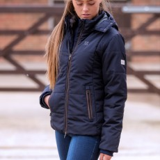 Mark Todd Women's Winter Padded Jacket (Navy)