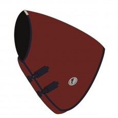 JHL Essential Turnout Rug Neck Cover (Burgundy/Navy)