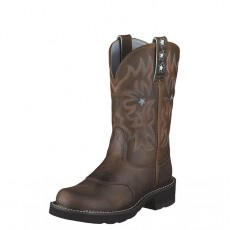 Ariat Women's Probaby Western Boots (Driftwood Brown)