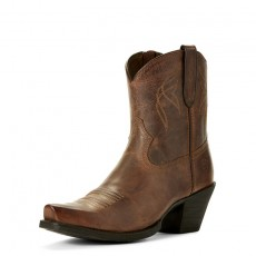 Ariat Women's Diamante Western Boots (Natural Norwood)