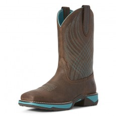 Ariat Women's Alamar Western Boots (Chocolate Lizard Print)