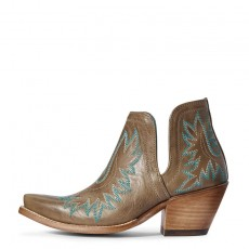 Ariat Women's Chaparrel Western Boots (Brilliant Buff / Rose Gold)
