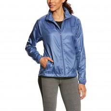 Ariat Women's Ideal Windbreaker Jacket (Indgo Fade Heather)