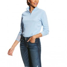 Ariat Women's Sunstopper 1/4 Zip (Powder Blue)