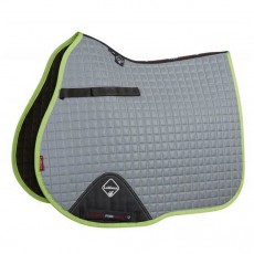 LeMieux Hi-Vis GP Saddlepad (Lime Green)