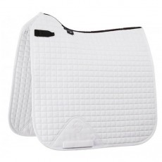 LeMieux Dressage Cotton Square (White)