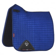 LeMieux Dressage Suede Saddlepad (Benetton Blue)