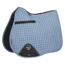 LeMieux GP Suede Saddlepad (Ice Blue)