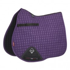 LeMieux GP Suede Saddlepad (Blackcurrant)