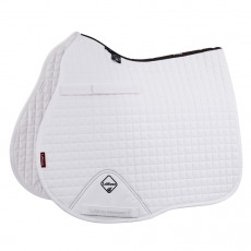 LeMieux GP/Jump Plain Cotton Saddlepad (White)