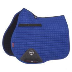 LeMieux GP Suede Saddlepad (Benetton Blue)