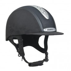 Champion Evolution Puissance Riding Hat (Black)