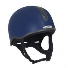 Champion Junior X-Air Helmet Plus Hat (Navy)
