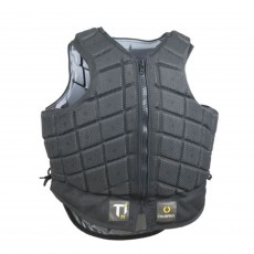 Champion Adult's Titanium Ti22 Body Protector (Black & Gunmetal)