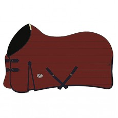JHL (Clearance) Essential Mediumweight Stable Rug (Burgundy & Navy)
