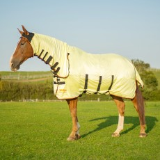 Equilibrium Field Relief Fly Rug (Yellow, Black & Orange)