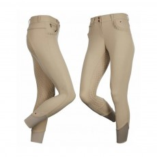 LeMieux Women's Engage Full Seat Breeches (Beige/Beige)