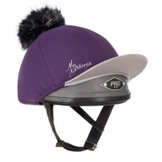 LeMieux Pom Pom Hat Silk (Blackcurrant)