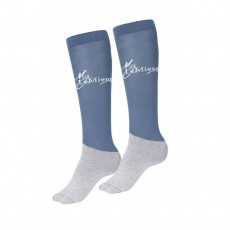 LeMieux Competition Socks (Ice Blue)