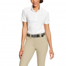 Ariat (Sample) Women's Showstopper Short Sleeve (White)