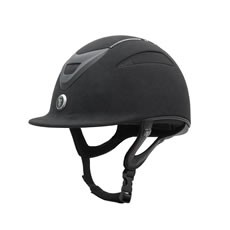 Gatehouse Conquest MKII Riding Hat (Suedette Crystal Black)