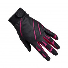 Mark Todd Adults Sports Riding Gloves (Black/Cerise)