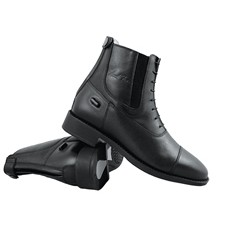 Mark Todd Adults Short Competition Boots Back Zip (Black)