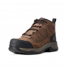 Ariat Men's Telluride Work Waterproof CT Boots (Distressed Brown)