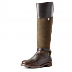 Ariat Women's Carden Waterproof Boots (Chocolate/Willow)
