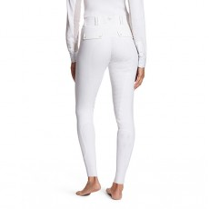 Ariat Women's Tri Factor Grip Full Seat Breeches (White)